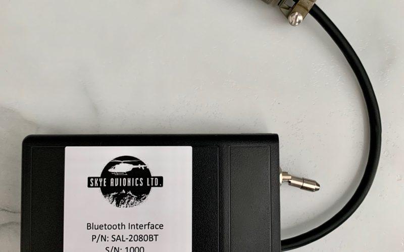Skye Avionics Bluetooth Solution – On Display at the HAI